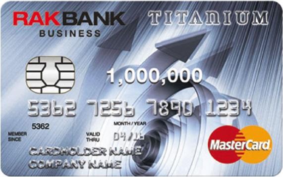 RAKBANK Titanium Business Credit Card