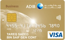 ADIB Business Gold Covered Card